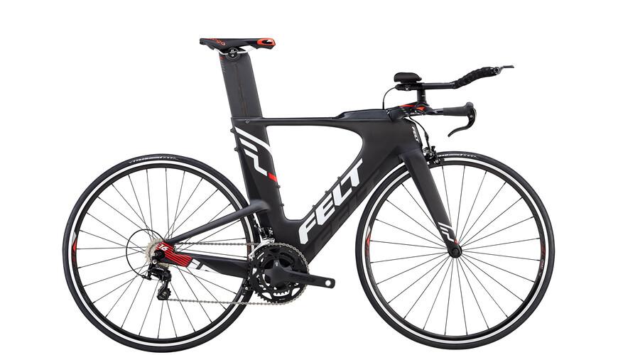 Felt IA16 triathlon-pyörä , musta